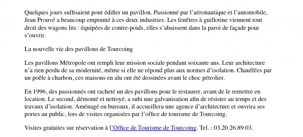 A Tourcoing, un pavillon de Jean Prouvé ouvert au public - La C