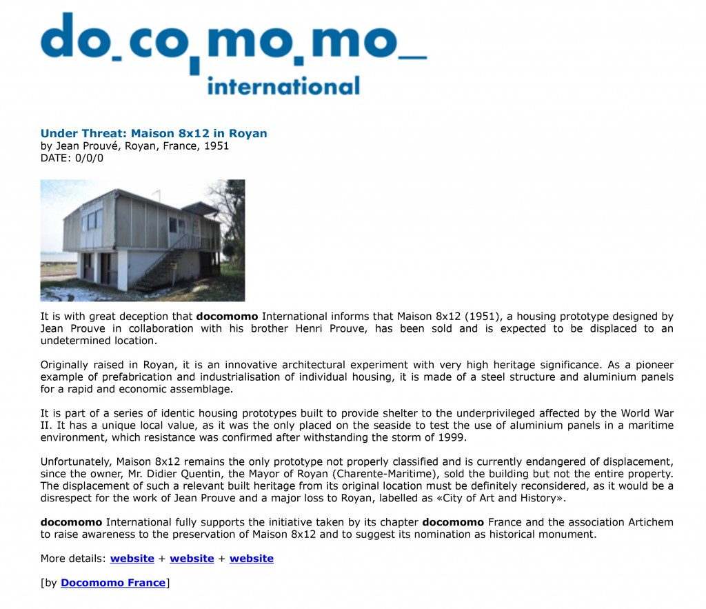 Welcome to Docomomo International