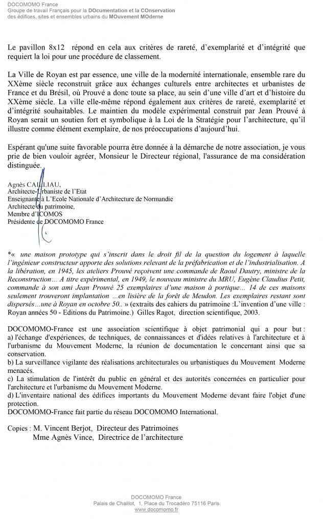 lettre Agnès Cailliau-2